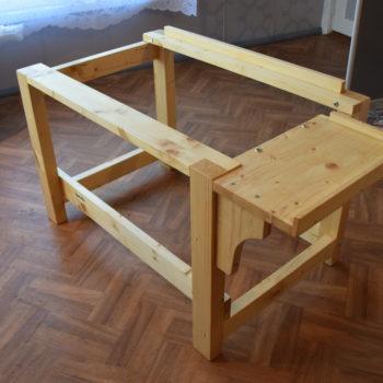 Laud 80.cm laiusele lauateljele
